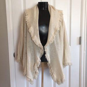 80% Wool 20% Cashmere Jacket cardigan